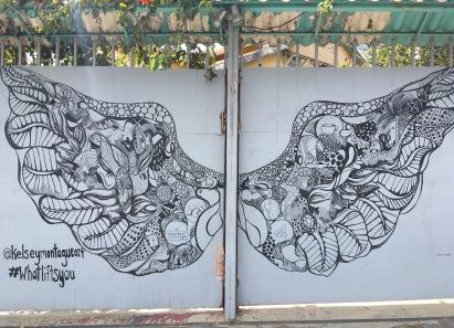 Grafitti Artist: Kelsey Montague