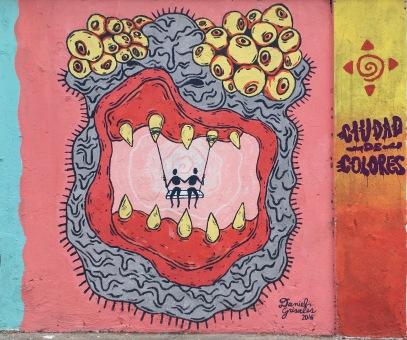 Graffiti artist: Daniel Grisales